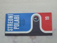 Automapa 19 - 1 : 200 000 - Střední Polabí (1971)