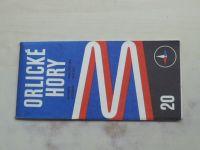 Automapa 20 - 1 : 200 000 - Orlické hory (1971)