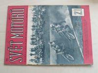 Svět motorů 21 (1963) ročník XVII.