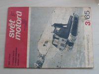 Svět motorů 3 (1965) ročník XIX.