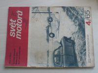Svět motorů 4 (1965) ročník XIX.