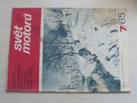 Svět motorů 7 (1965) ročník XIX.