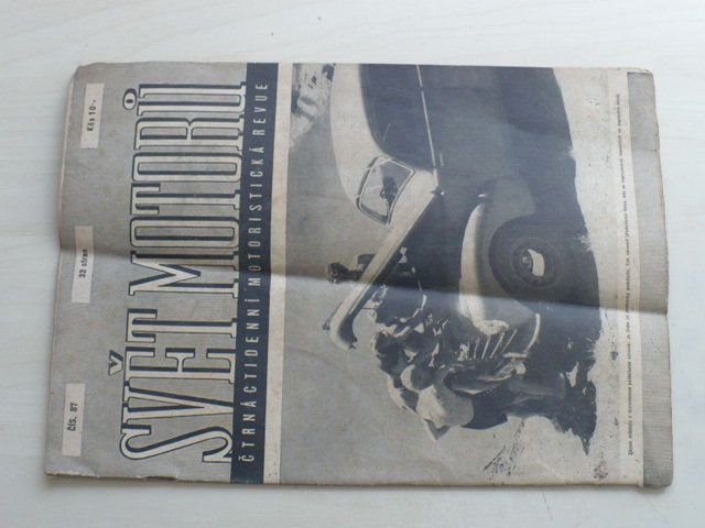 Svět motorů 87 (1950) ročník IV.