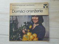 Truhlář - Domácí oranžerie - architektonické a stavební úpravy (1979)