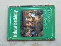 Lidové betlémy - 15 + 2 vánočních pohlednic (nedatováno)