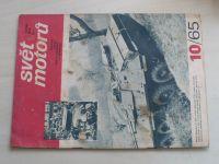 Svět motorů 10 (1965) ročník XIX.