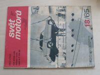 Svět motorů 18 (1965) ročník XIX.