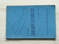 Zadák - Základy lyžařství (Svaz lyžařů RČS 1937)