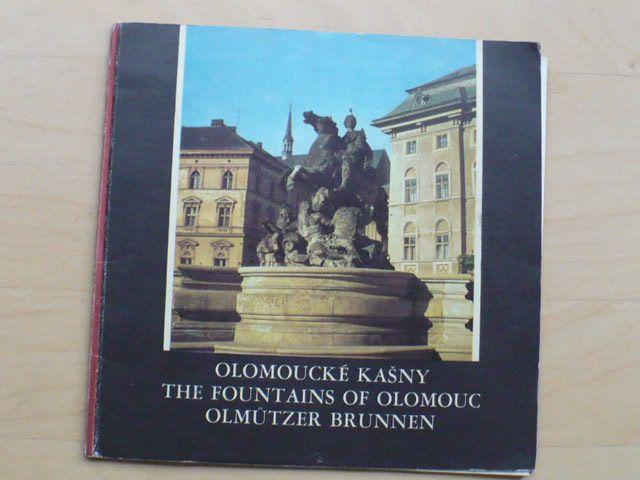 Rečka - Olomoucke kašny (1969) německy