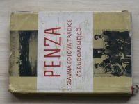 Křížek - PENZA - Slavná bojová tradice čs. rudoarmějců (1956)