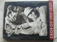 Zborov 1917 - 1937 - Památník k dvacátému výročí bitvy u Zborova 2. července 1917