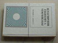 Kondáš, Heřmánek - Psychológia v liečebnej rehabilitácii (1976) slovensky