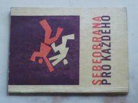 Mašín, Zrůbek - Sebeobrana pro každého (1966)