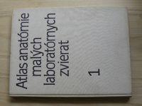 Popesko - Atlas anatómie malých laboratórnych zvierat 1 (1990)