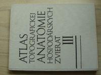Popesko - Atlas topografickej anatómie hospodárskych zvierat III. (1977) Panva a končatiny
