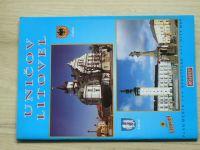 Uničov - Litovel - Plán města 1 : 7.500