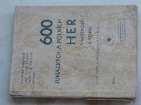 Fanderlik - 600 junáckých a polních her v místnosti a venku (1946)