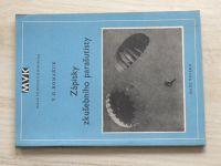 Romaňuk - Zápisky zkušebního parašutisty  (Malá vojenská knihovna 45, 1953)