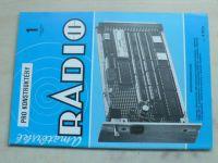 Amatérské radio pro konstruktéry 1-12 (1988) ročník XXXVII. (chybí čísla 7-12, 6 čísel)
