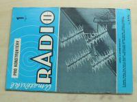 Amatérské radio pro konstruktéry 1 (1984) ročník XXXIII.