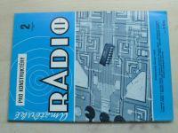 Amatérské radio pro konstruktéry 2 (1985) ročník XXXIV.