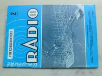 Amatérské radio pro konstruktéry 2 (1986) ročník XXXV