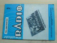 Amatérské radio pro konstruktéry 3 (1984) ročník XXXIII.