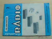Amatérské radio pro konstruktéry 3 (1986) ročník XXXV.