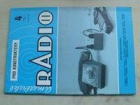 Amatérské radio pro konstruktéry 4 (1991) ročník XL.