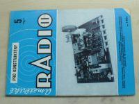 Amatérské radio pro konstruktéry 5 (1984) ročník XXXIII.