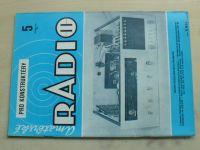 Amatérské radio pro konstruktéry 5 (1986) ročník XXXV.