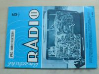 Amatérské radio pro konstruktéry 5 (1987) ročník XXXVI.