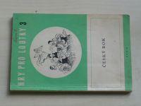 Hry pro loutky 3. - Langer - Český rok - maňásková lidová suita o pěti obrazech (1955)