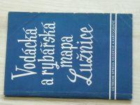 Vodácká a rybářská mapa Lužnice 1:30.000 (1957)