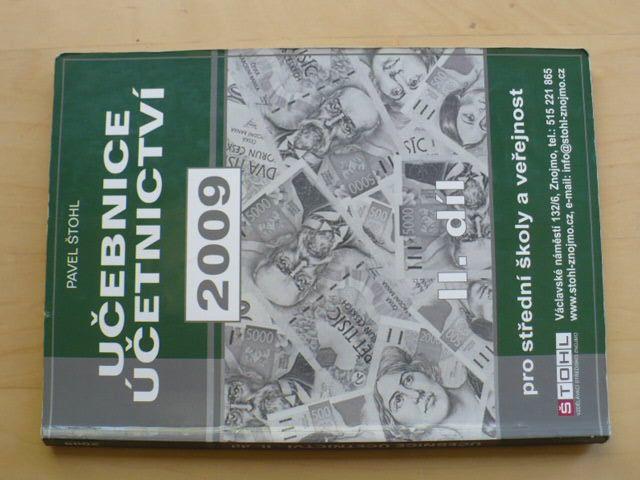 Štohl - Učebnice účetnictví (2009) II. díl