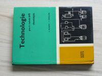 Haken, Kollár - Technologie pro 4. ročník SPŠ chemických (1970)
