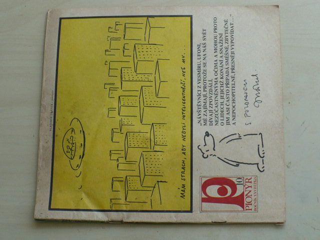 Pionýr 10 (1981) ročník XXVIII.