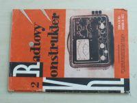Radiový konstruktér 2 (1975) ročník XI.