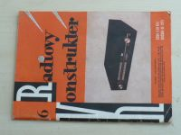 Radiový konstruktér 6 (1975) ročník XI.