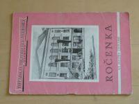 Divadlo Oldřicha Stibora Olomouc - Ročenka za sezónu 1959-1960