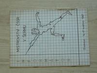 Mistrovství ČSSR v šermu - Olomouc 14.-17. května 1987 - Informátor