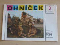 Ohníček 1-24 (1981-82) ročník XXXII. (chybí čísla 1-2, 4, 8, 16, 20, 23, 17 čísel)