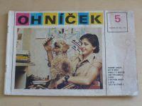 Ohníček 5 (1981) ročník XXXII.