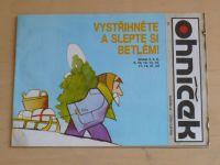 Ohníček 7 (1991) ročník XLII.
