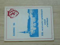 Olomouc ´86 - XVII. mistrovství spřátelených armád v košíkové