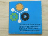 Azutocamps in North Moravia (1972) 3-jazyčný text - Autokempy severní Moravy