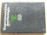 Boroš - Experimentálna psychológia (1986) slovensky