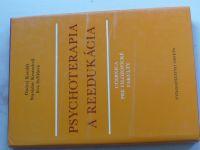 Kondáš - Psychoterapia a reedukácia - Učebnica pre filozofické fakulty (1985)