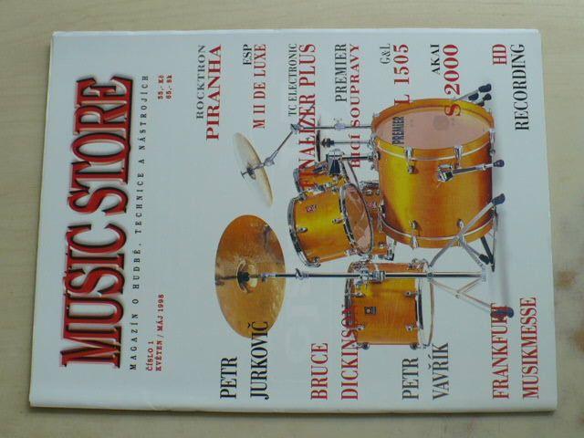 Music store 1 (1998) ročník I.