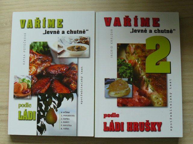 """Vaříme """"levně a chutně"""" podle Ládi Hrušky 1,2 (2014,2015)"""